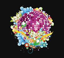 KRW Fantasy Disco Music Ball Womens Fitted T-Shirt