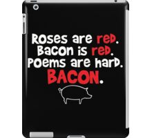 bacon red iPad Case/Skin