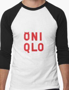 oniqlo Men's Baseball ¾ T-Shirt