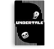 Undertale - Bone Wave Canvas Print