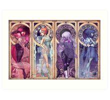 Steven Universe Mucha Art Print