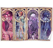 Steven Universe Mucha Poster