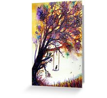 Tree Song Greeting Card