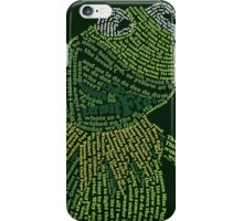 It's not easy, bein' Kermit iPhone Case/Skin