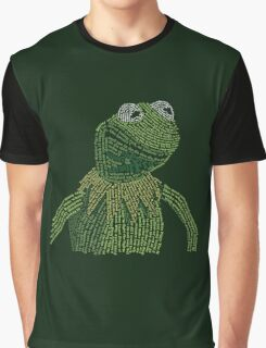 It's not easy, bein' Kermit Graphic T-Shirt