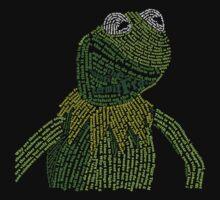 It's not easy, bein' Kermit Baby Tee