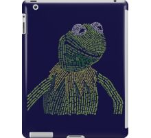 It's not easy, bein' Kermit iPad Case/Skin