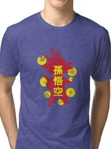 Catch'em Goku Tri-blend T-Shirt