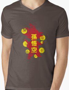 Catch'em Goku Mens V-Neck T-Shirt