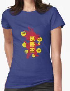 Catch'em Goku Womens Fitted T-Shirt
