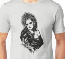 80s Punk Witch V01 - Black Edition  Unisex T-Shirt