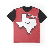 Cute Texas Graphic T-Shirt
