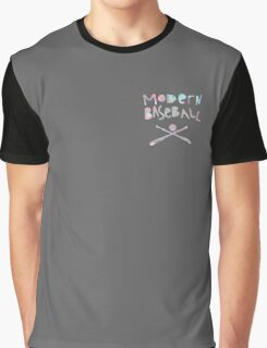 Modern Baseball Pastel Graphic T-Shirt