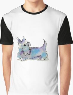Scottie Dog Graphic T-Shirt