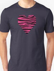 0121 Cerise Pink Tiger Unisex T-Shirt