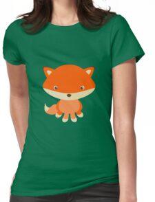 Little fox Womens Fitted T-Shirt