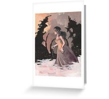 Werewolf Maiden Greeting Card