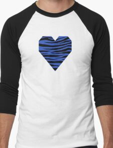 0123 Cerulean Blue Tiger T-Shirt