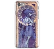 Lapis Lazuli Mucha iPhone Case/Skin
