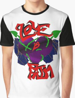 Love Is Pain Graphic T-Shirt