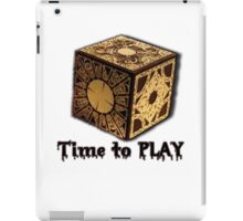 Time To Play! iPad Case/Skin
