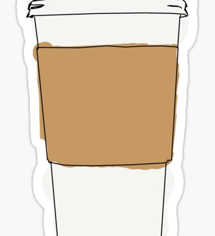 To-go Coffe Cup Sticker