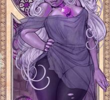 Amethyst Mucha Sticker