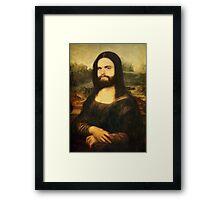 Mona-Lisa Galifianakis Framed Print