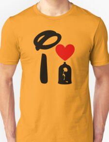 I Heart Beauty and The Beast T-Shirt