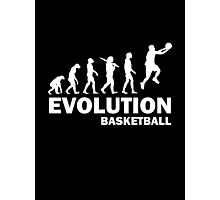 Evolution Basketball Photographic Print