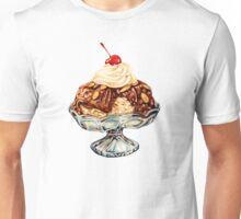 Ice Cream Sundae Pattern Unisex T-Shirt