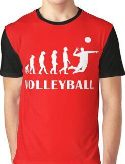 Evolution Volleyball Graphic T-Shirt