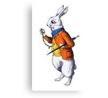 The White Rabbit Canvas Print