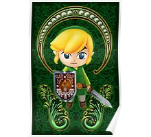 Cute Link Egg Head Poster