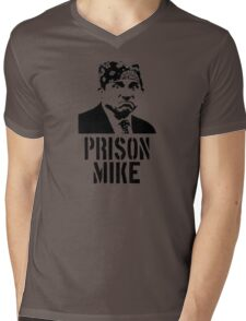 Prison Mike - The Office Mens V-Neck T-Shirt