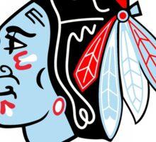 Chicago Blackhawks Circle-Chicago Theme Sticker