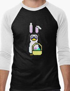 Easter Penguin Men's Baseball ¾ T-Shirt