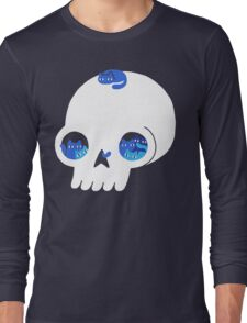 Skull Full Of Cats Long Sleeve T-Shirt