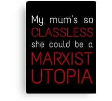 Marxist Utopia Canvas Print