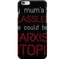 Marxist Utopia iPhone Case/Skin