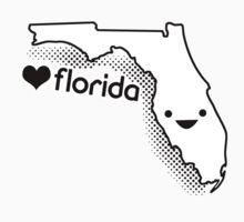 Cute Florida Kids Tee