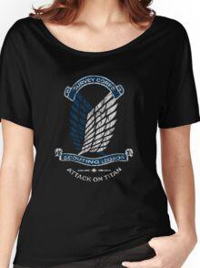 Emblem Grunge  Women's Relaxed Fit T-Shirt