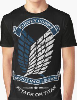 Emblem Grunge  Graphic T-Shirt