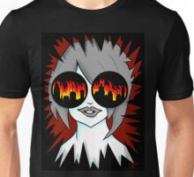 Lilly watches the world burn Unisex T-Shirt