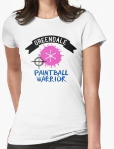 Make Paintball Cool Again Womens Fitted T-Shirt