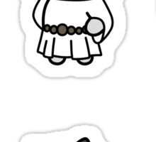 Star Wars Double Trios  - Neko Atsume Crossover Sticker Set (FORMATTED BEST FOR MEDIUM/ LARGE) Sticker