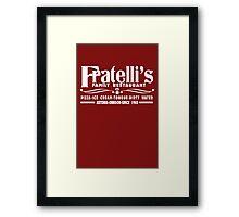 The Goonies Movie - Fratelli's Restaurant Framed Print