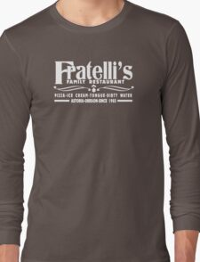 The Goonies Movie - Fratelli's Restaurant Long Sleeve T-Shirt