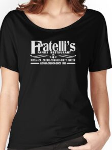 The Goonies Movie - Fratelli's Restaurant Women's Relaxed Fit T-Shirt