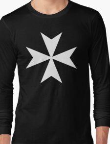 Cross of the Knights Hospitaller Long Sleeve T-Shirt
